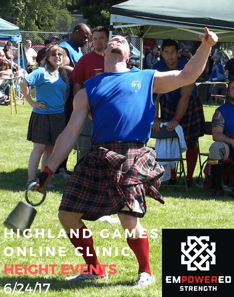 Online highland games clinics empowered strength highland games online clinic height events solutioingenieria Choice Image